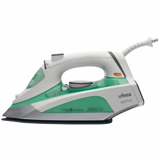 Plancha de Vapor UFESA PV5110 0,37 L 2400W Blanca Verde