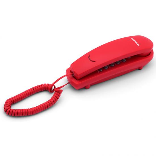 Telefono Fisso Daewoo DTC-115R LED Rosso