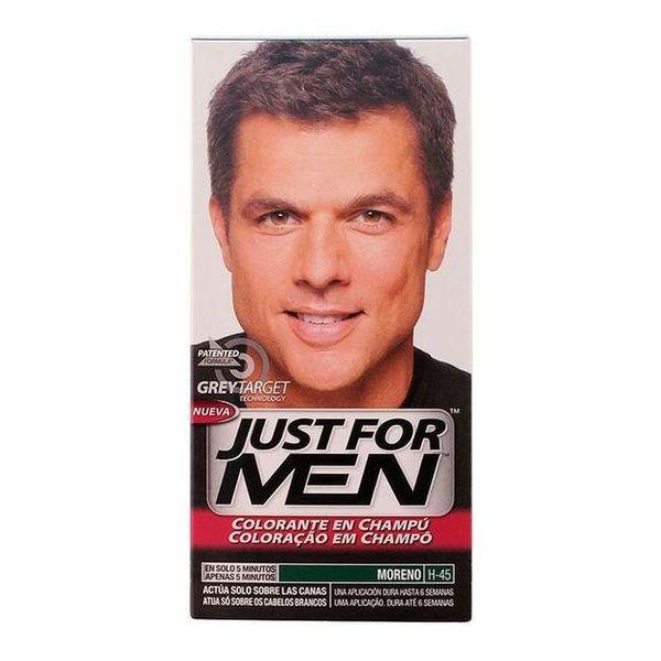 Barvni šampon za lase Just For Men Just For Men Naravno rjava