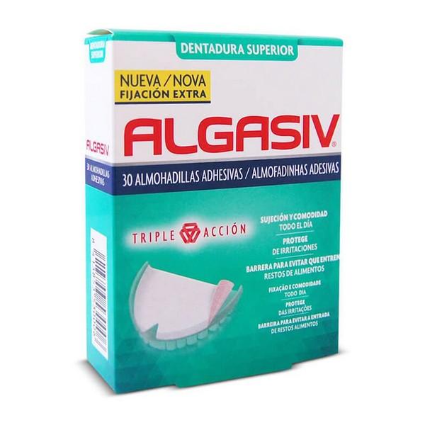Cuscinetti Adesivi per Dentiere Superior Algasiv (30 uds)