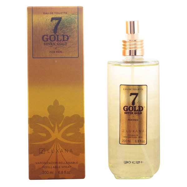 Perfume Mujer Seven Gold Luxana EDT
