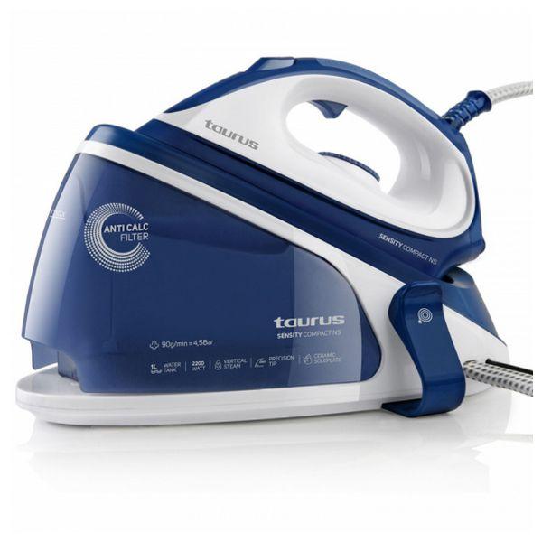 Ferro da Stiro con Caldaia Taurus Sensity Compac NS 1 L 90 g/min 2200W Azzurro Bianco