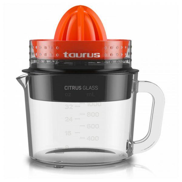 Exprimidor Eléctrico Taurus CITRUS GLASS 1 L 30W Cristal