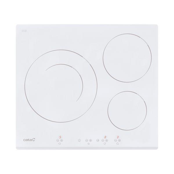Piano Cottura ad Induzione Cata IB6030WH 60 cm (3 fuochi) Bianco