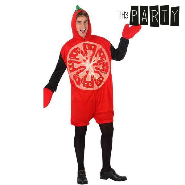 Costume per Adulti Th3 Party 5664 Pomodoro