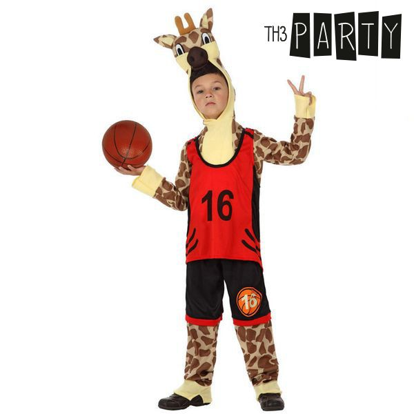 Costume per Bambini Th3 Party 2166 Giraffa sportiva