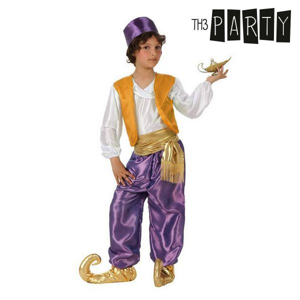Disfraz para Niños Th3 Party Árabe Morado
