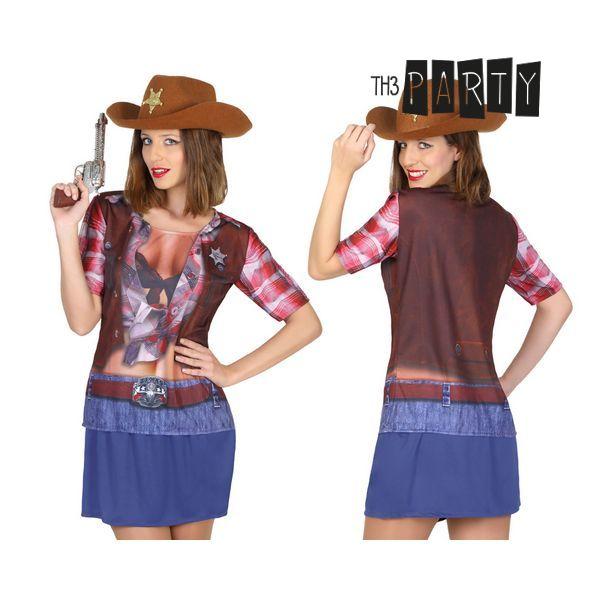 Maglia per adulti Th3 Party 6674 Cowboy donna
