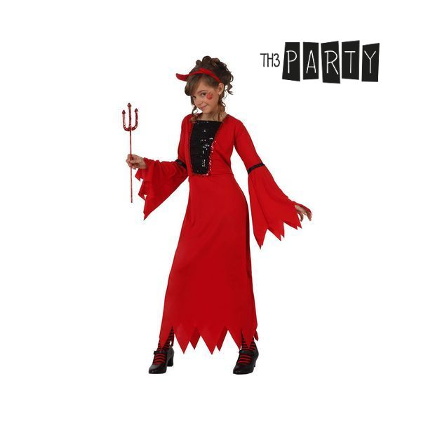 Costume per Bambini Th3 Party 5254 Demonio donna