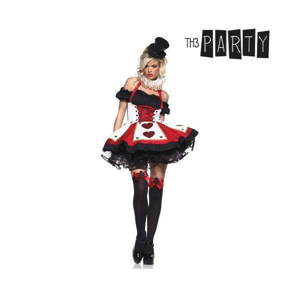 Costume per Adulti Th3 Party 7661 Dama di cuori