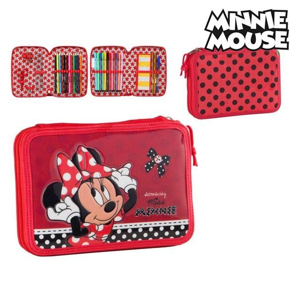 Astuccio Plumier Minnie Mouse 73097 Rosso