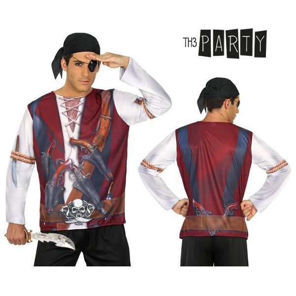 Maglia per adulti Th3 Party 7659 Pirata uomo