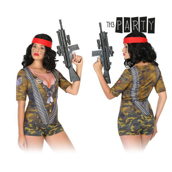 Maglia per adulti Th3 Party 8218 Camuffamento