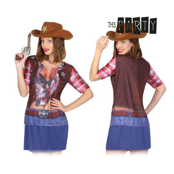Maglia per adulti Th3 Party 8270 Cowboy donna