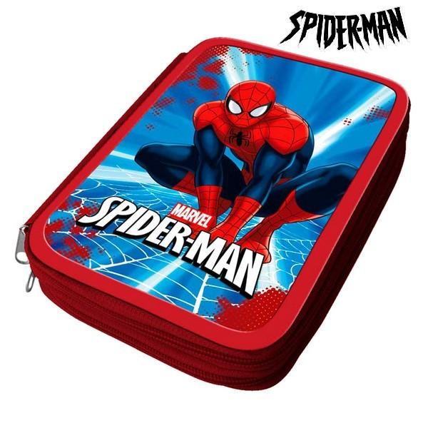 Astuccio Plumier Spiderman 32466 Rosso