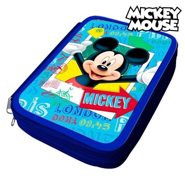 Astuccio Plumier Mickey Mouse 32480 Azzurro