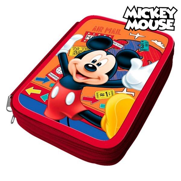 Astuccio Scuola Mickey Mouse 32497 Arancio