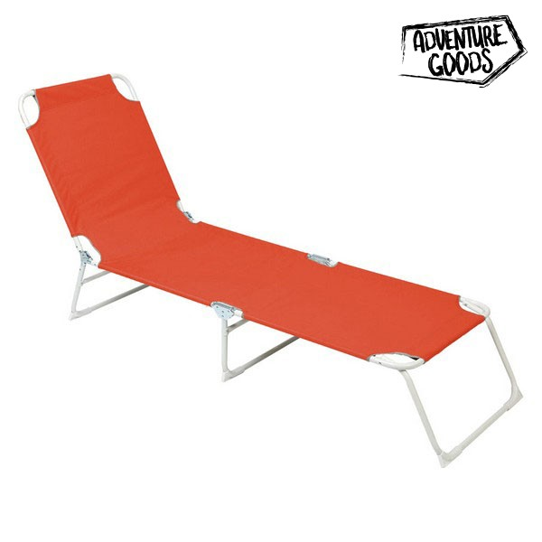 Lettino Adventure Goods 33661 (187 x 55 x 27 cm) Arancio