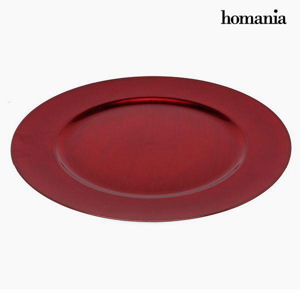 Plato Llano Homanía 942 Rojo