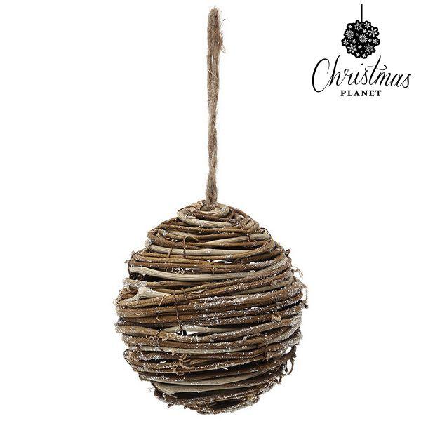 Palla di Natale Christmas Planet 3949 Legno Marrone