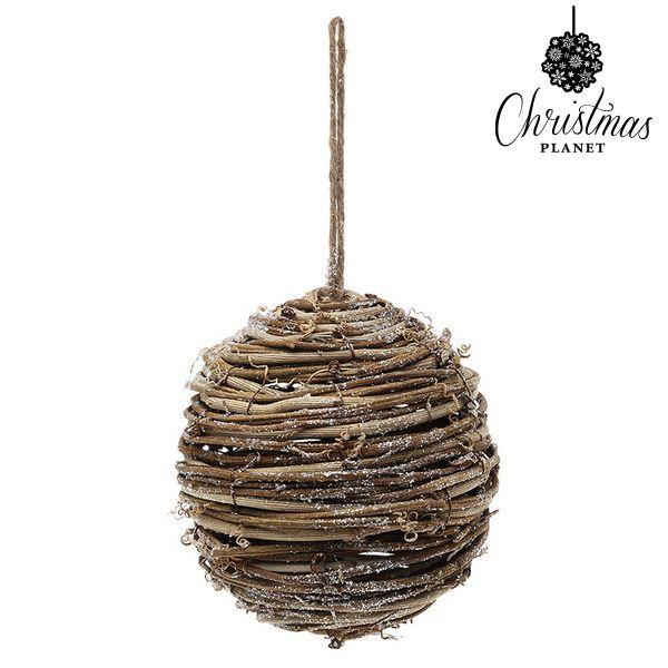 Palle di Natale Christmas Planet 4502 14 cm Legno Marrone