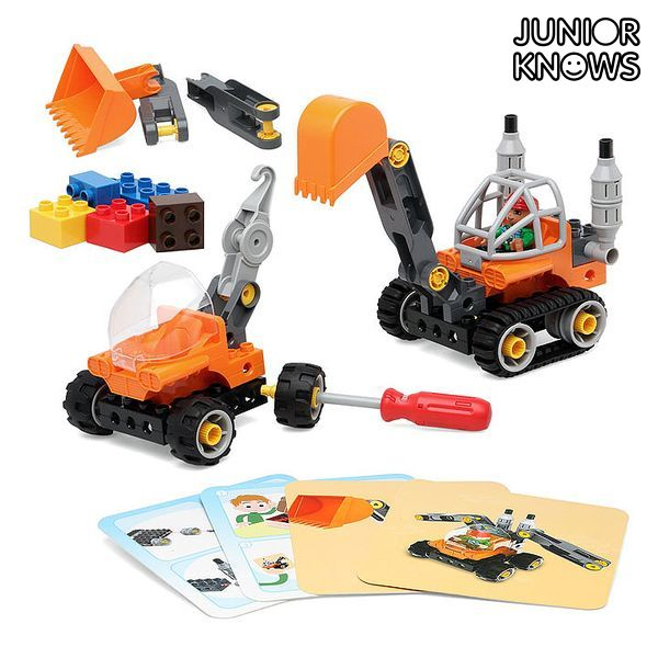 Set di Costruzioni Junior Knows 1266 (38 pcs)