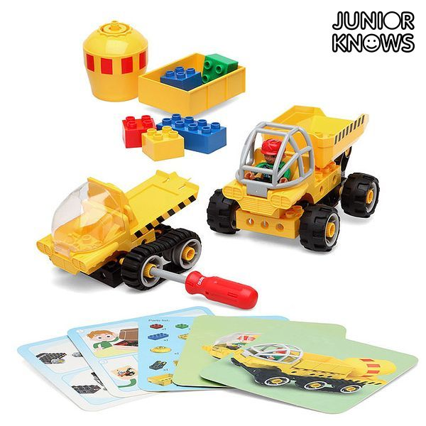 Set di Costruzioni Junior Knows 1280 (38 pcs)