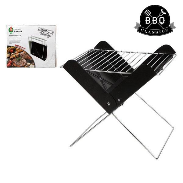 Barbecue Portatile BBQ Classics 33085 (30 x 26 x 30 cm) Nero