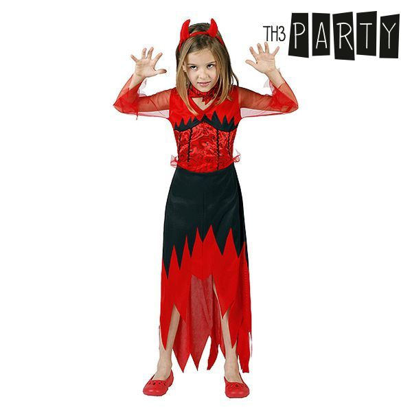 Costume per Bambini Th3 Party 1132 Demonio donna