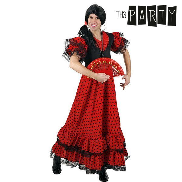 Costume per Adulti Th3 Party 4569 Ballerina di flamenco