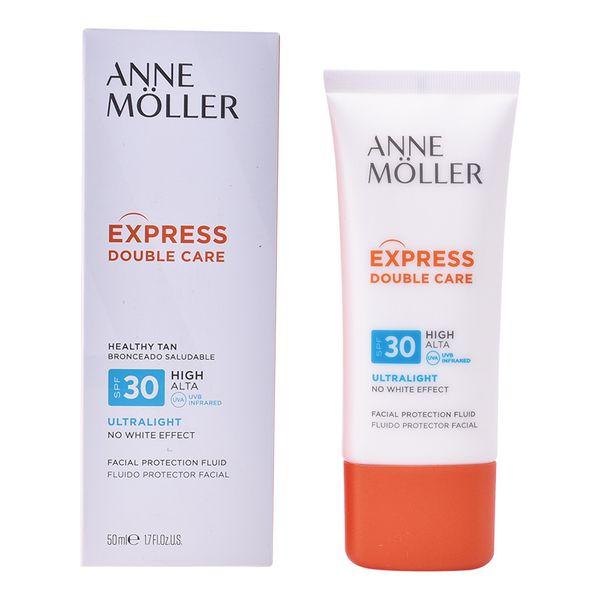 Tekoče sredstvo za zaščito pred soncem Express Double Care Anne Möller Spf 30 (50 ml)
