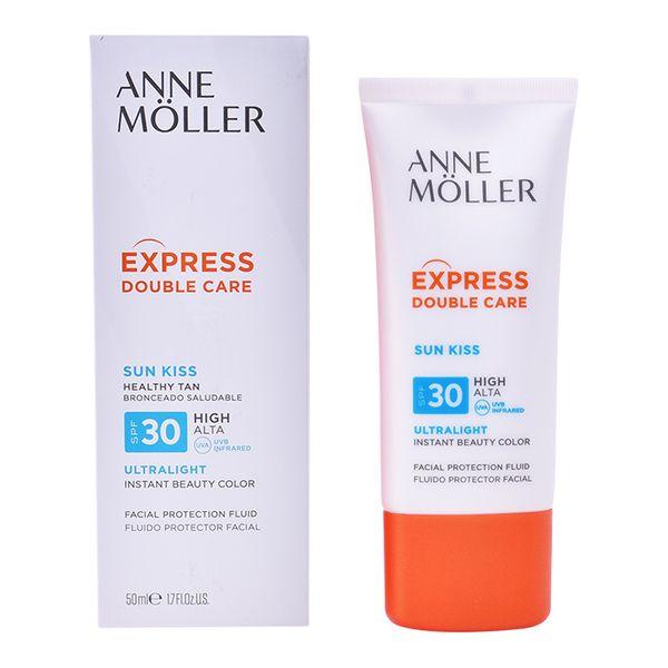 Tekoče sredstvo za zaščito pred soncem Sun Kiss Anne Möller Spf 30 (50 ml)