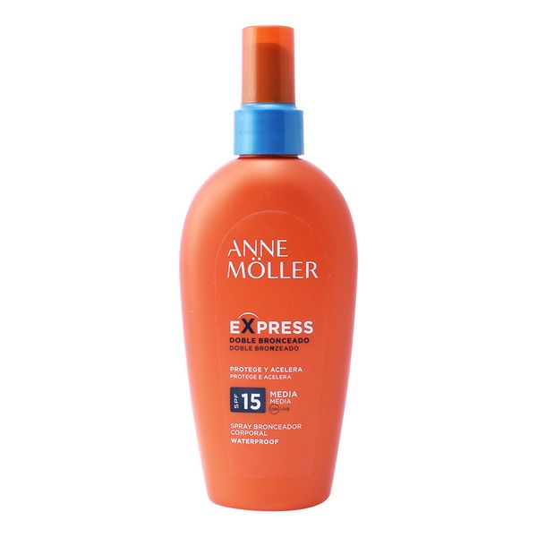 Spray Abbronzante Express Anne Möller Spf 15 (200 ml)