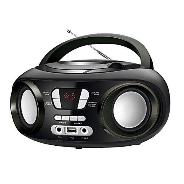 Radio CD Bluetooth MP3 BRIGMTON W-501 USB Nero