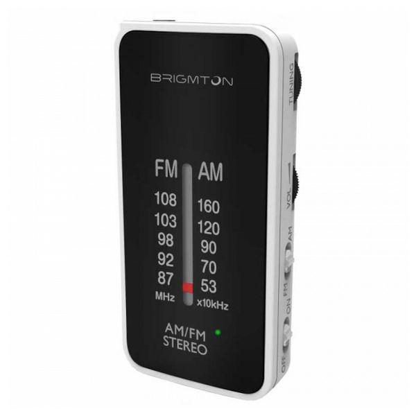 Radio Portatile BRIGMTON BT224 Bianco