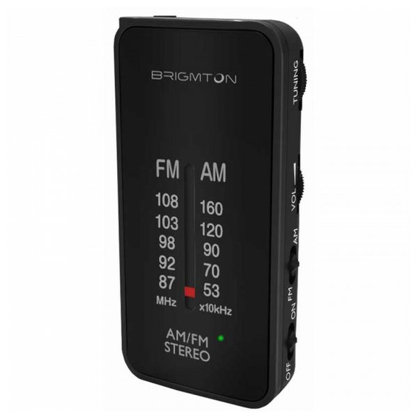 Radio Portatile BRIGMTON BT224 Nero