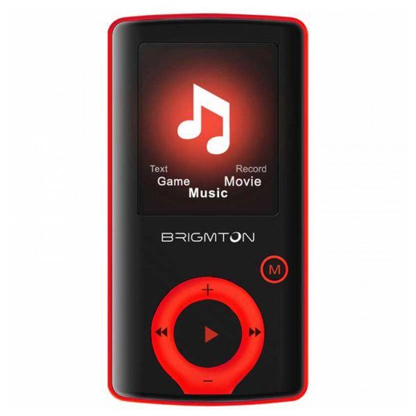 Riproduttore MP3 BRIGMTON BPA-81-R 1.8 8 GB Rosso