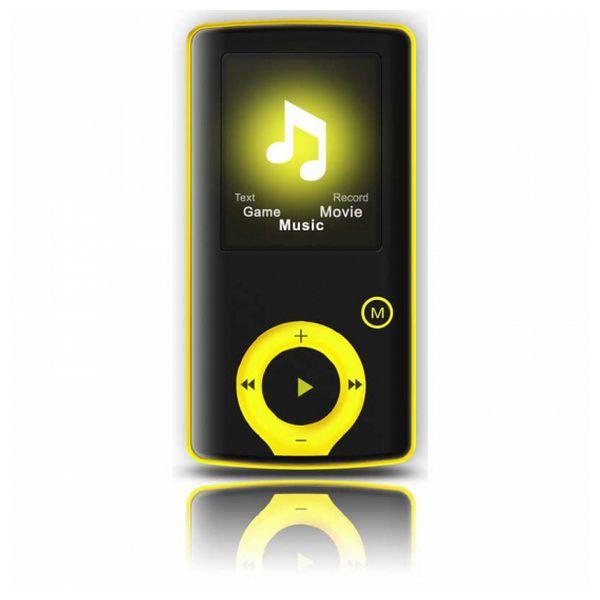 Riproduttore MP3 BRIGMTON BPA-81-Y 1.8 8 GB Giallo