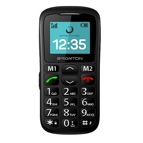 "Smartphone BRIGMTON BTM-11 Senior 1,77"" Bluetooth FM"