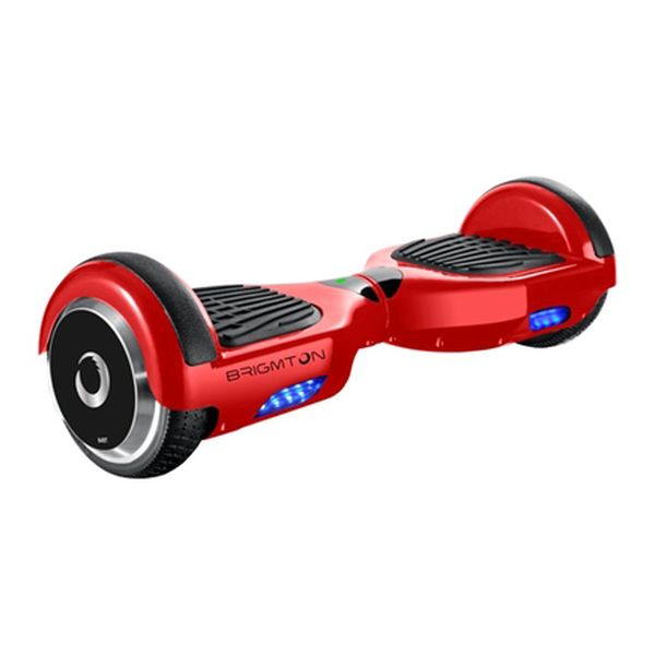 Monopattino Elettrico Hoverboard BRIGMTON BBOARD-64BT-R 6,5 4400 mAh Bluetooth 700 W Rosso