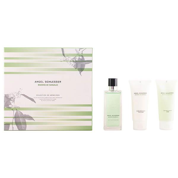 Set de Perfume Hombre Madera Naranjo Angel Schlesser (3 pcs)