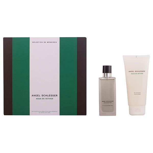 Set de Perfume Hombre Agua De Vetiver Angel Schlesser (2 pcs)
