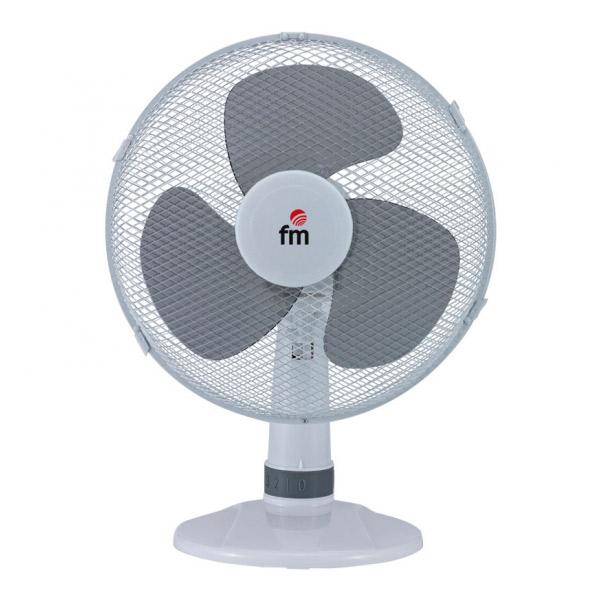 Ventilatore da Tavolo Grupo FM S130 30 cm 3A 35W Bianco