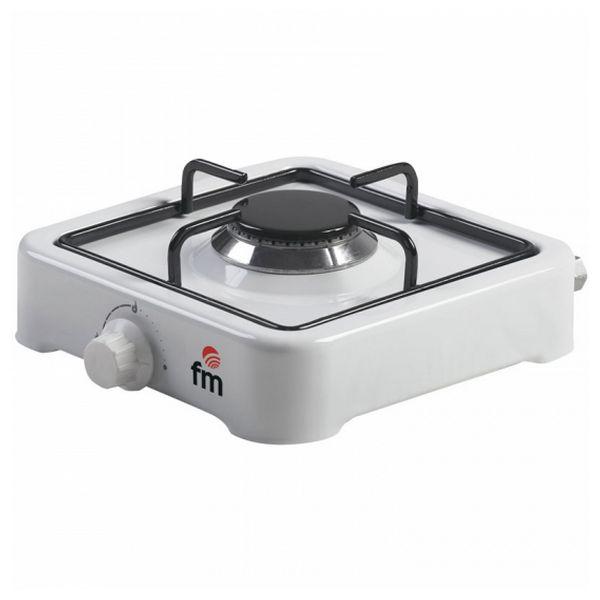 Plinska kuhalna plošča Grupo FM HG100 Bela (1 gorilnik)