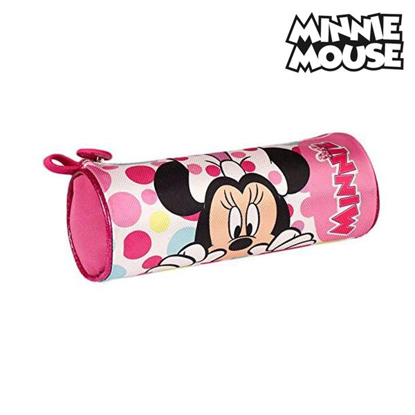 Estuche Escolar Cilíndrico Minnie Mouse 12479