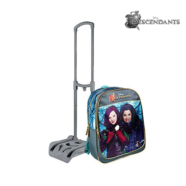 Mochila Escolar con Ruedas Descendants 12912