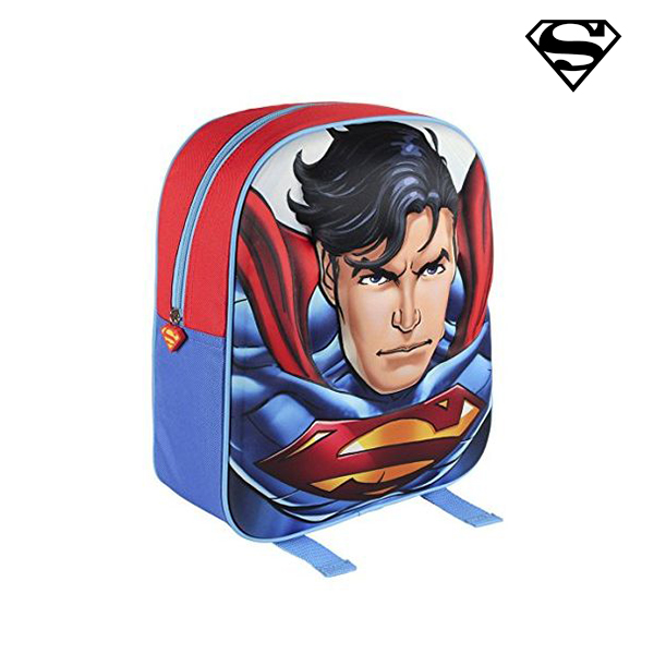 Mochila Escolar 3D Superman 30169