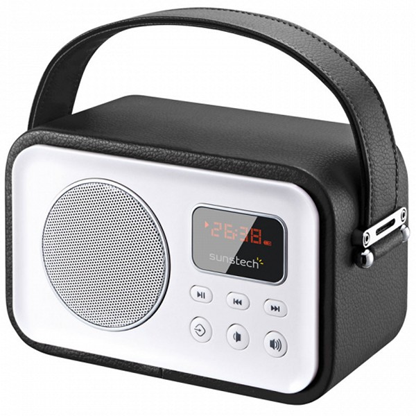 Radio Portátil Sunstech 223303 Bluetooth 2,5W Negro
