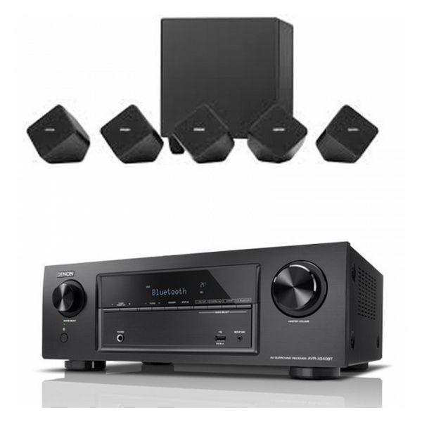 Home Cinema Denon DHT-54020 Bluetooth 150W Negro