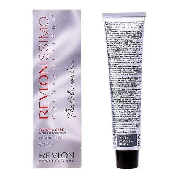 Obstojna barva z učinkom proti staranju Revlonissimo Revlon NMT 7,34